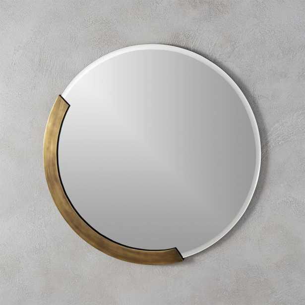"""kit 24"""" round mirror"" - CB2"