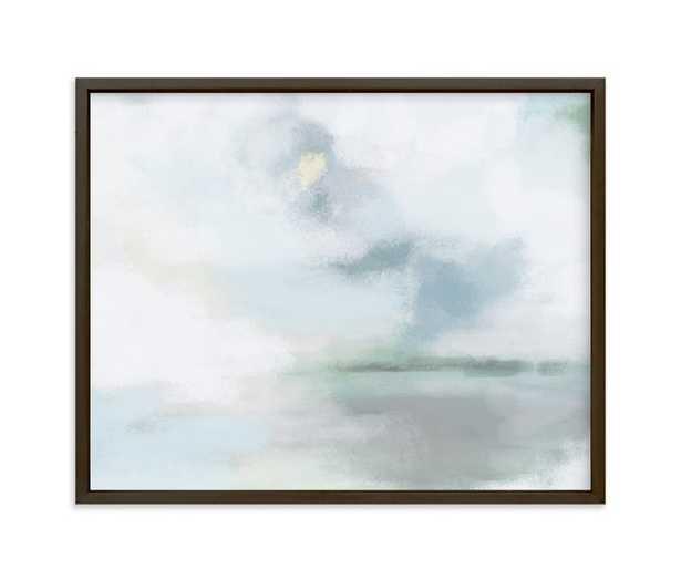 """Monday Blues Art Print - 10"""" x 8"""" - Matte Black Frame - Minted"""
