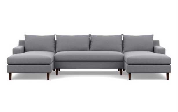 Sloan U sectional & bench cushion - Interior Define