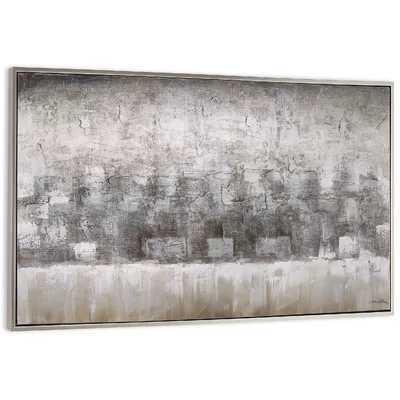 'Sandstorm' Framed Painting on Canvas - Wayfair