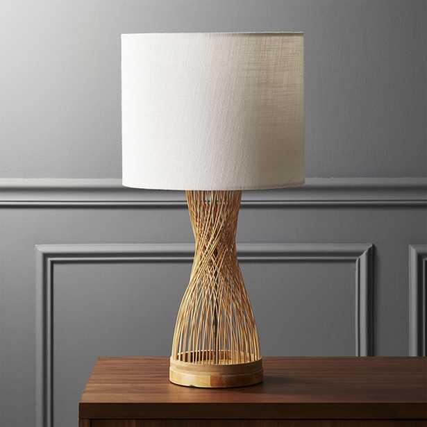 Rattan Table Lamp - CB2