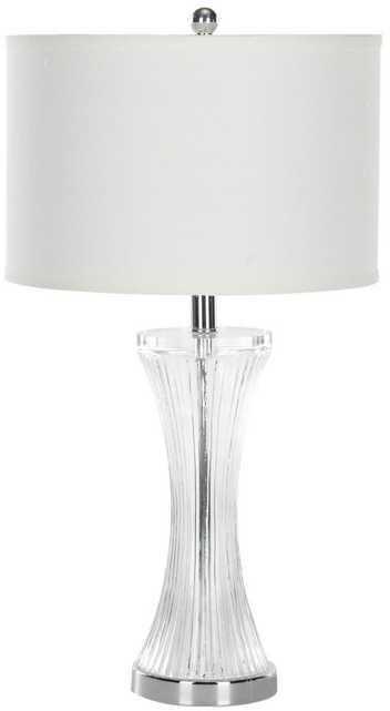 ZELDA 25-INCH H GLASS TABLE LAMP - Arlo Home