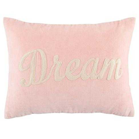 Pink Dream Throw Pillow - With Insert - Crate and Barrel