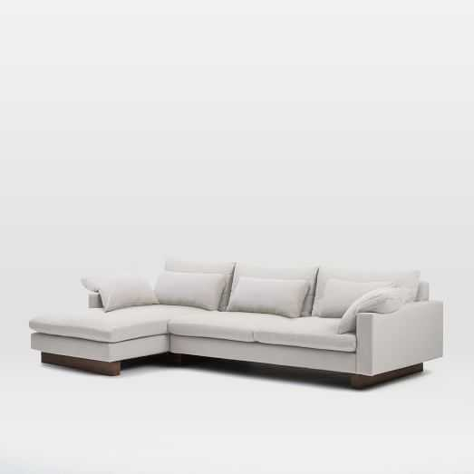 Harmony 2-Piece Chaise Sectional -Left Chaise 2-Piece Sectional - West Elm