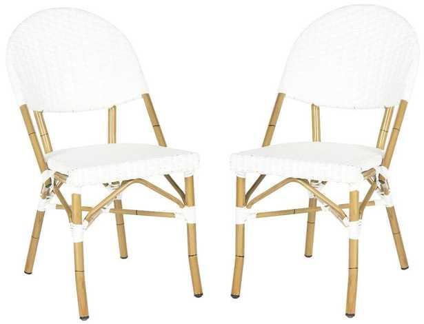 Set of 2 Barrow Indoor/Outdoor Side Chair - Arlo Home