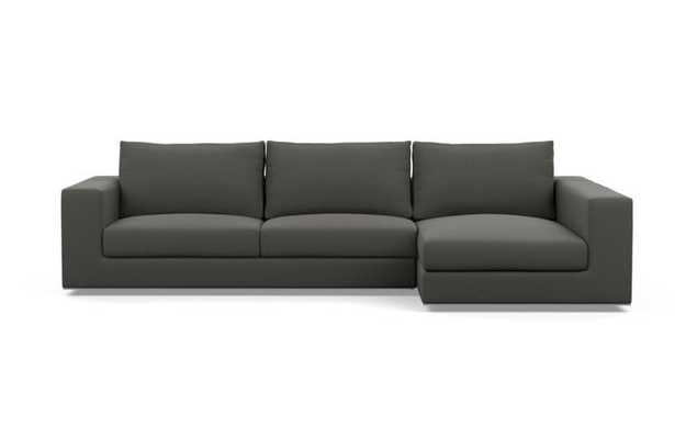 WALTERS FABRIC SOFA WITH RIGHT CHAISE - Interior Define