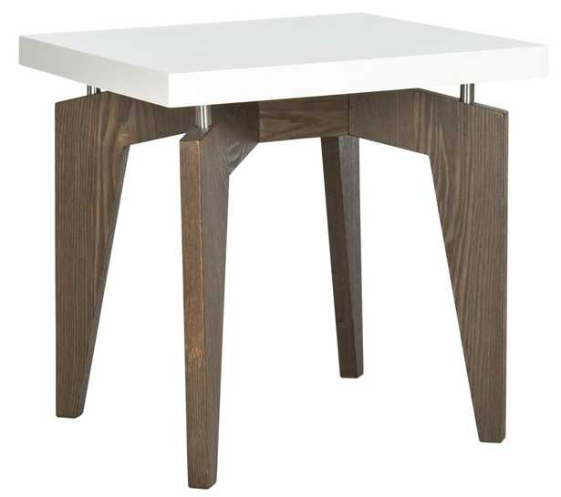 JOSEF RETRO LACQUER FLOATING TOP LACQUER END TABLE - Arlo Home