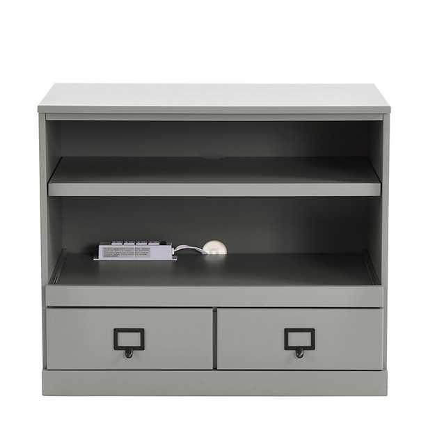 Ballard Designs Original Home Office Printer Cabinet - Gray - Ballard Designs