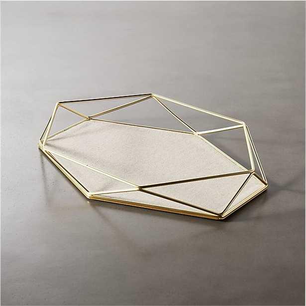 prisma geometric storage catchall - CB2