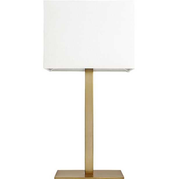 john table lamp - CB2