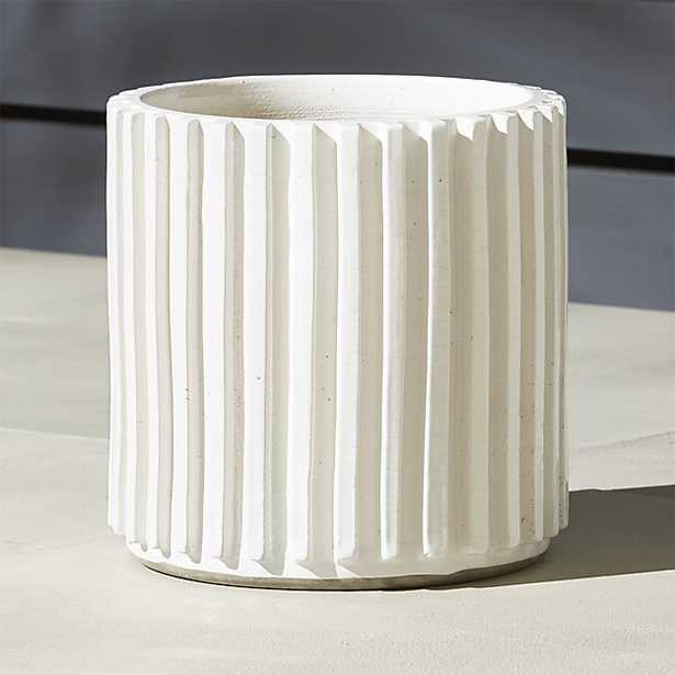 lineal planters - large - CB2