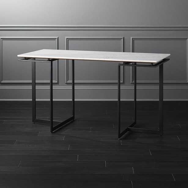 Fullerton Modular Desk with 2 Legs - CB2