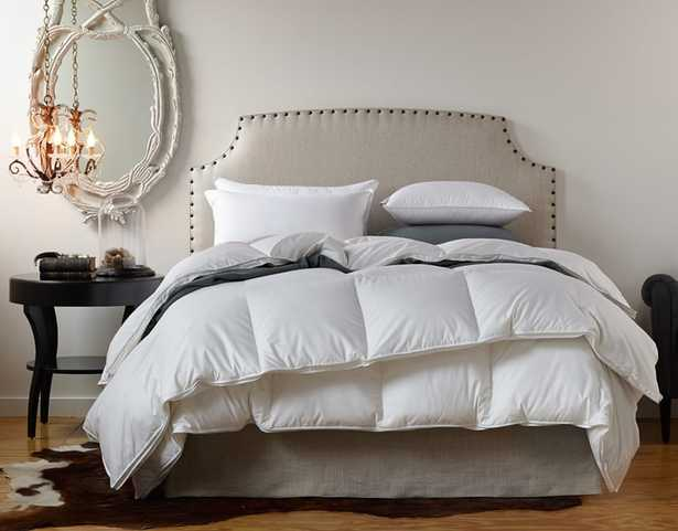 Serenity Down Duvet Insert - KG 107x96 Fall Weight - Noble Feather Co.