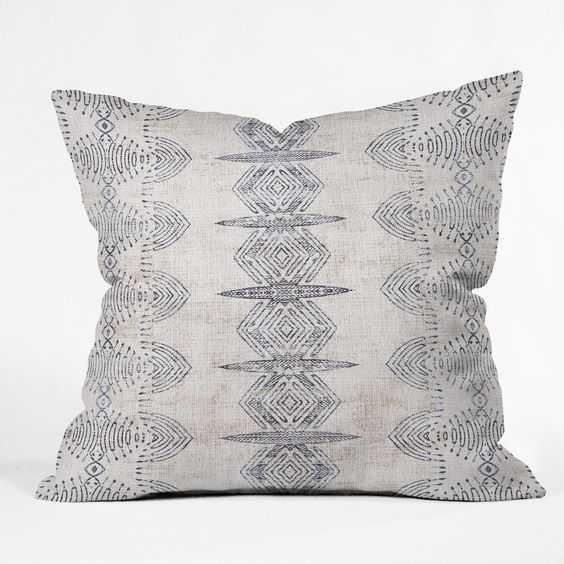 "FRENCH LINEN ERIS Throw Pillow - 20"" x 20"" - Pillow with Insert - Wander Print Co."