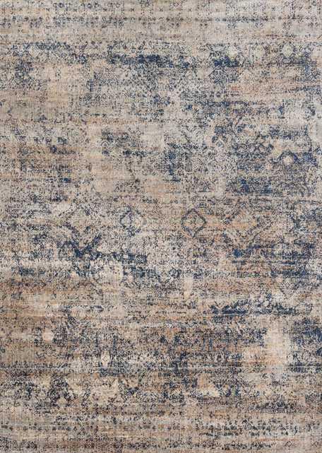 """ANASTASIA Rug MIST / BLUE 6'-7"""" X 9'-2"""" - Loma Threads"""