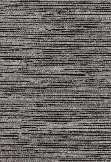 """EMORY Rug GREY / BLACK 5'-3"""" X 7'-7"""" - Loma Threads"""