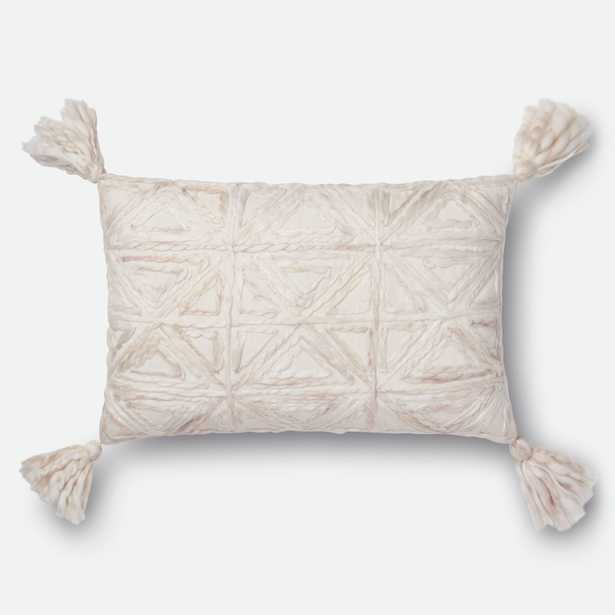 """PILLOWS Pillow NATURAL 13"""" X 21"""" Cover w/Poly - Loma Threads"""