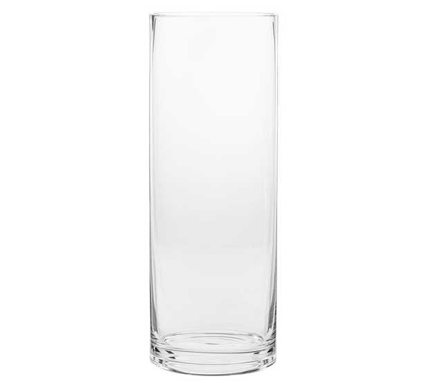 Aegean Clear Glass Vases - Large - Pottery Barn