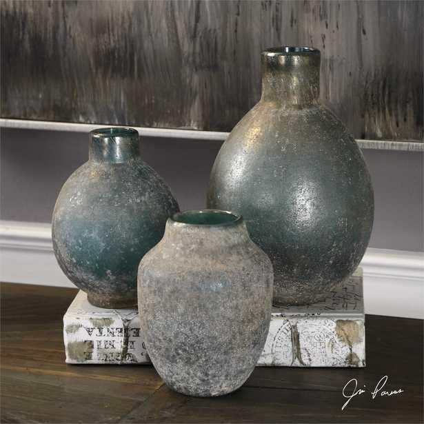 Mercede, Vases, S/3 - Hudsonhill Foundry