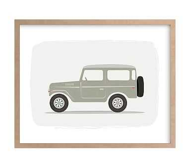 Vintage Land Cruiser, Wall Art by Minted(R), 11x14, Natural - Pottery Barn Kids