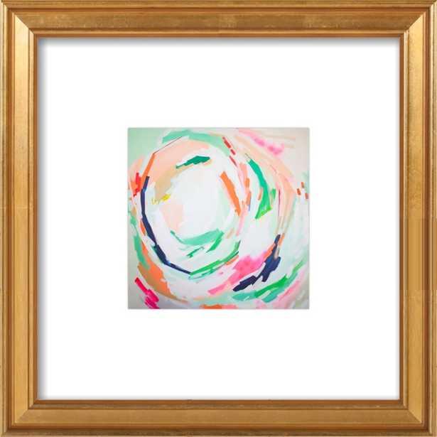 Amy Artwork - 8X8- Gold  frame - Artfully Walls