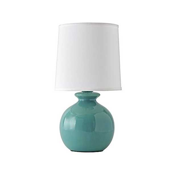 Gumball Teal Table Lamp - Crate and Barrel
