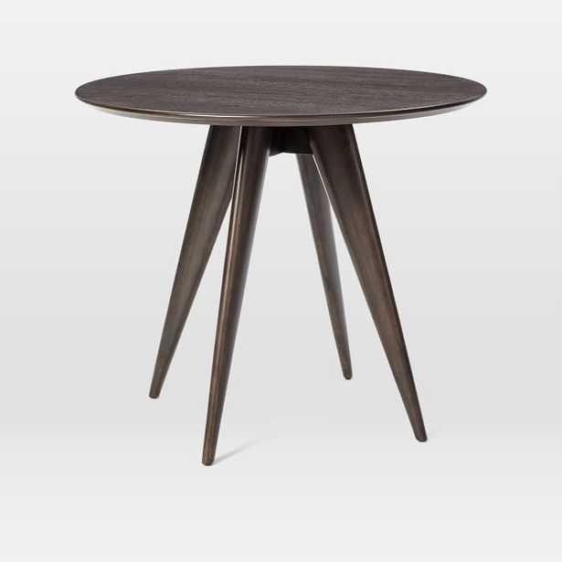 Turner Bistro Table, Dark Mineral - West Elm