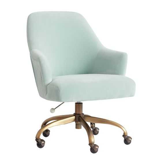 Pleated Desk Chair - Pottery Barn Teen