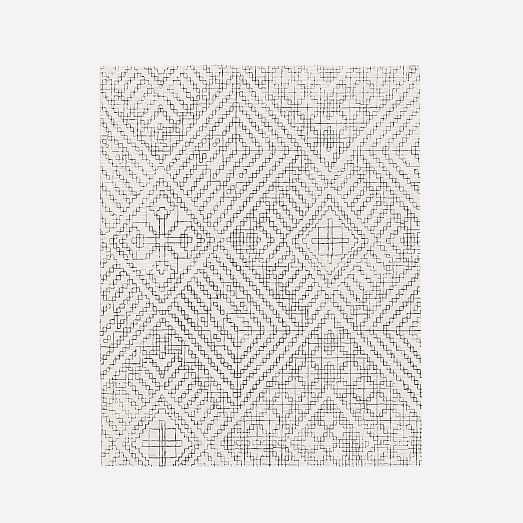 Stone Tile Rug, Slate, 8 x 10 - West Elm