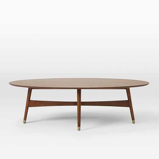 Reeve Mid- Century Modern Coffee Table Pecan - West Elm