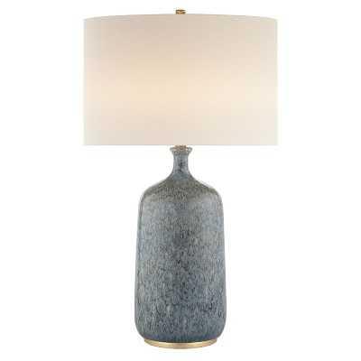 AERIN Culloden Table Lamp, Blue Lagoon - Williams Sonoma