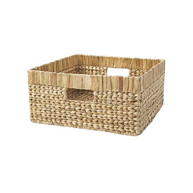 Natural Wicker Large Changing Table Basket - Crate and Barrel