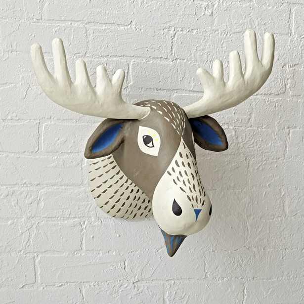 Paper Mache Moose Head - Crate and Barrel