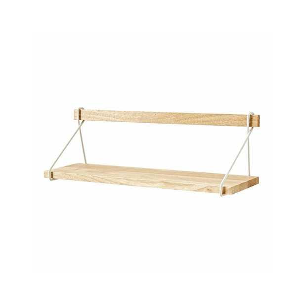 Wood Suspension Shelf - Crate and Barrel
