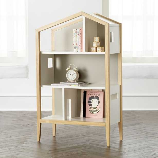 Modern House Bookcase - Crate and Barrel