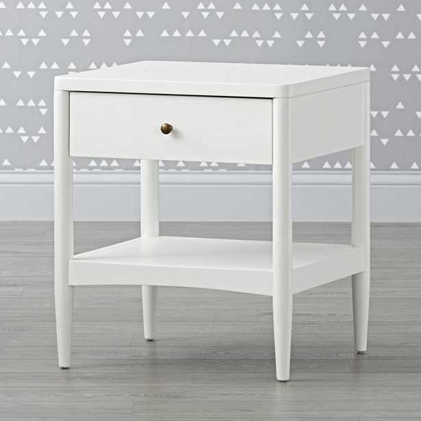Kids Hampshire White Nightstand - Crate and Barrel