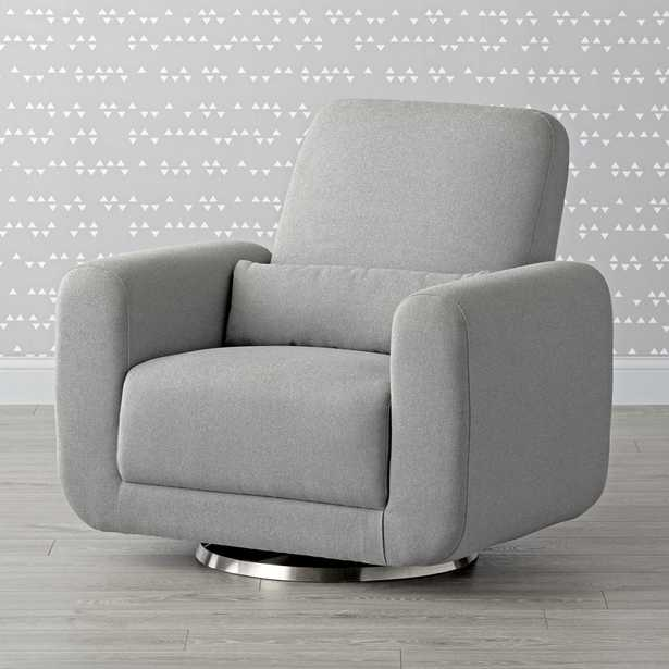 Babyletto Tuba Swivel Glider Chair and a Half - Crate and Barrel