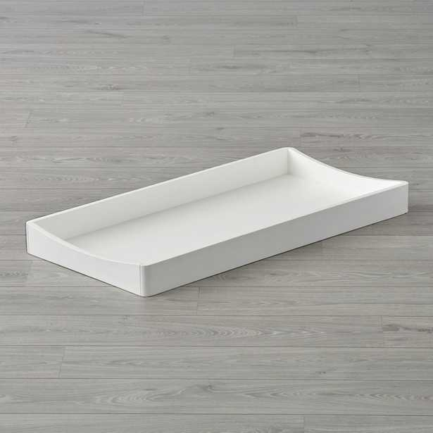 Hampshire White Changing Table Topper - Crate and Barrel