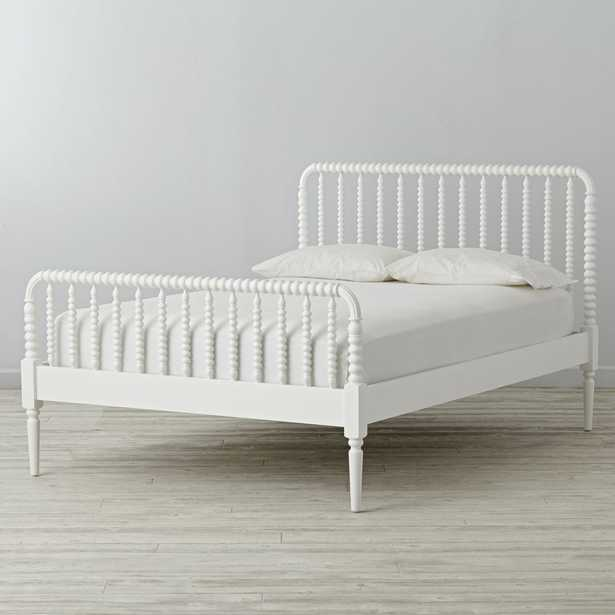 Jenny Lind White Full Bed - Crate and Barrel