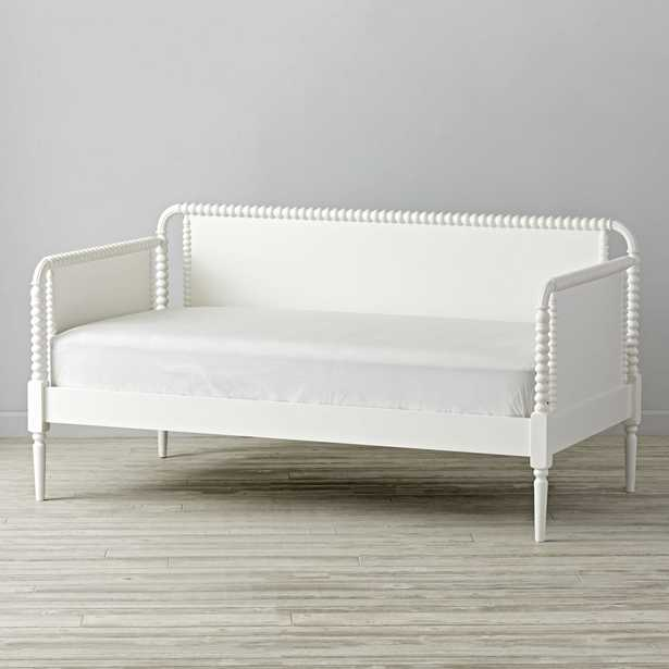 Jenny Lind White Daybed - Crate and Barrel