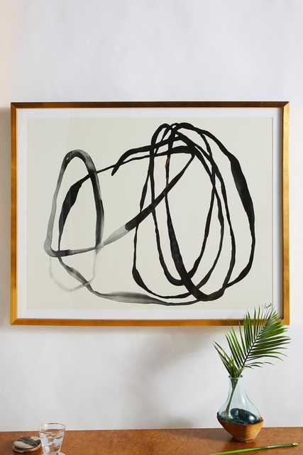 Motion Lines 3 Wall Art - Anthropologie