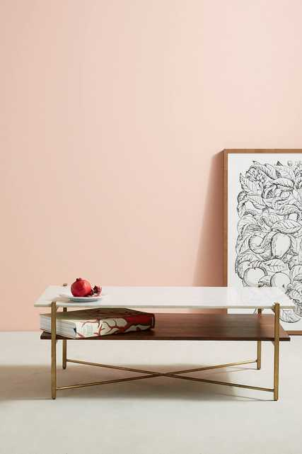 Elemental Layers Coffee Table - Anthropologie