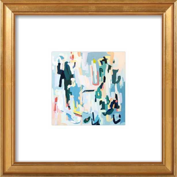 John #2 by Britt Bass Turner 8x8 Framed - Artfully Walls