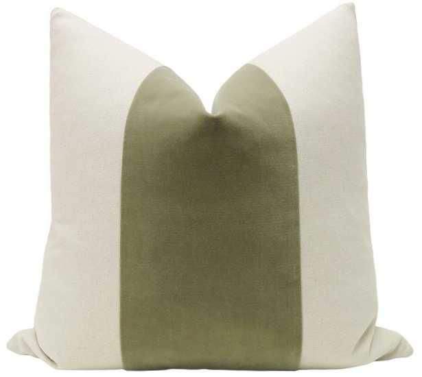 PANEL :: Signature Velvet // Spanish Moss - Little Design Company