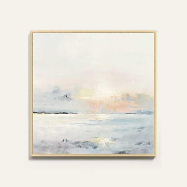 "Ballard Designs Pastel Sunset Framed Canvas  30"" x 30"" - Ballard Designs"