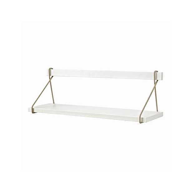 White Suspension Shelf - Crate and Barrel