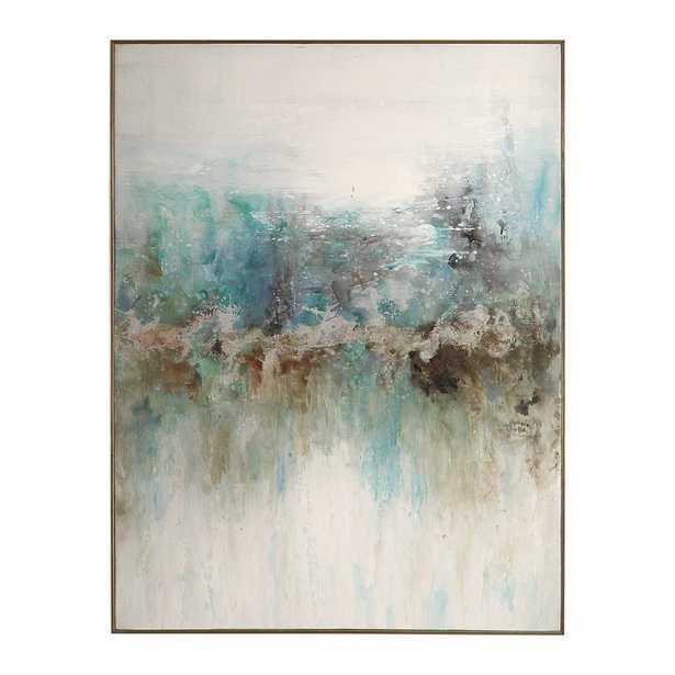 "Mountain Top Canvas Art, 37"" x 49"" - Hudsonhill Foundry"