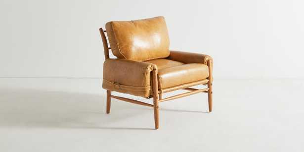 Leather Rhys Chair - Custom - Anthropologie
