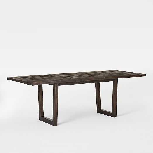 Logan Industrial Expandable Dining Table - West Elm