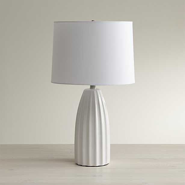 Ella White Table Lamp, Set of 2 - Crate and Barrel